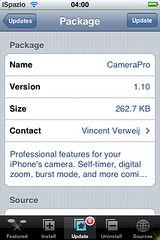Camera Pro Update 1.10