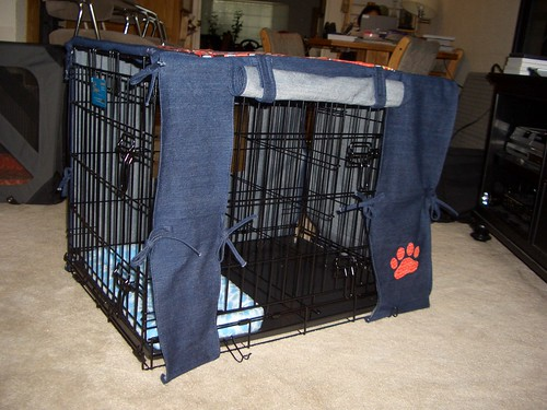 Dog crate front