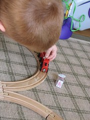 Playig trains and stations