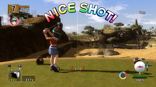 Hot Shots Golf Advanced Shot Mode 4