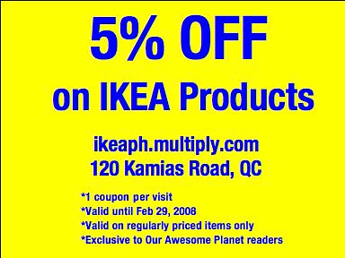 Ikea discount coupon code