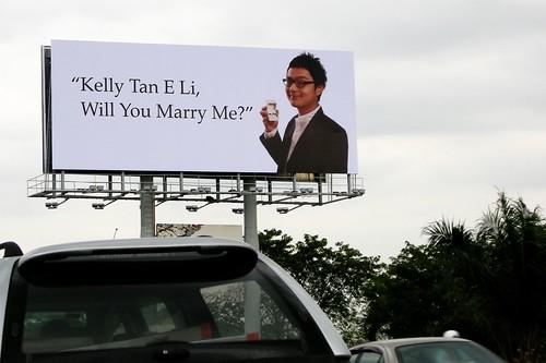 Kelly Tan E Li Will You Please Remove This Billboard Teh Tarik