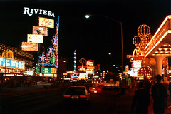 Las Vegas Boulevard at Night, 1992