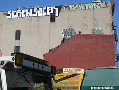 screw sacer (Luna Park) Tags: nyc ny rooftop screw graffiti chinatown manhattan rip roller lunapark msk skrew sace sacer onetime niro irak