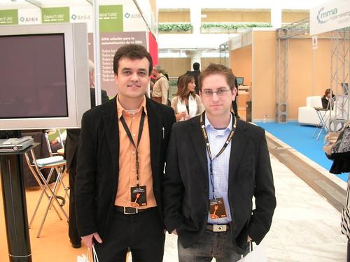 Marc Serra y Jorge Quintas en el OME 2008