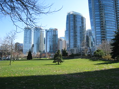 A budding tree (midnightglory) Tags: tree vancouver downtown coalharbour