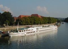 2001 bayern bavaria boat ship main franconia franken wurzburg würzburg wilhelmtell