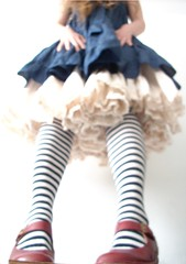 spt (Champignons) Tags: blue red portrait me glass socks self giant shoes looking dress alice eat wonderland thursday stripy artlibre