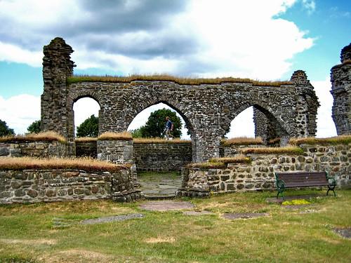 Gudhem convent ruins