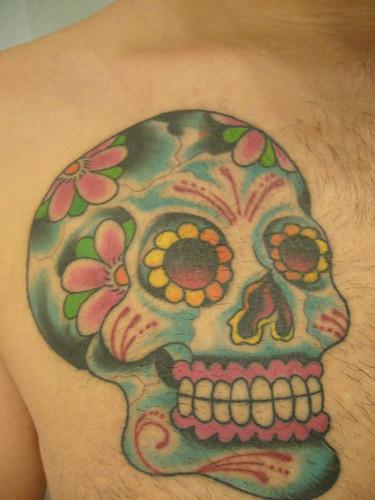 mexican skull My dia de