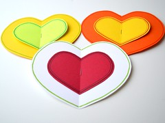 Valentines Day Cards Minimalistic 2017 (eppujensen) Tags: eppujensen 2017february crafting crafts design diy february spring versions adaptations valentinesday handmade colors colours white red yellow orange green lightgreen limegreen cardstock pens minimal minimalistic