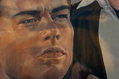 I'm not sure if this is Leonardo Del Toro or Benicio DiCaprio (dogwelder) Tags: california face painting mural head may losfeliz zurbulon6 2009 leonardodicaprio zurbulon beneciodeltoro