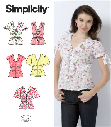 Simplicity 2601 front image