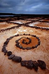 Salinas del Janubio (blinkingidiot) Tags: art rock del spiral salt lanzarote salinas land volcanic refinery janubio salinasdeljanubio doubleniceshot