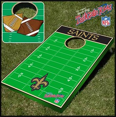 New Orleans Saints Bean Bag Toss Game