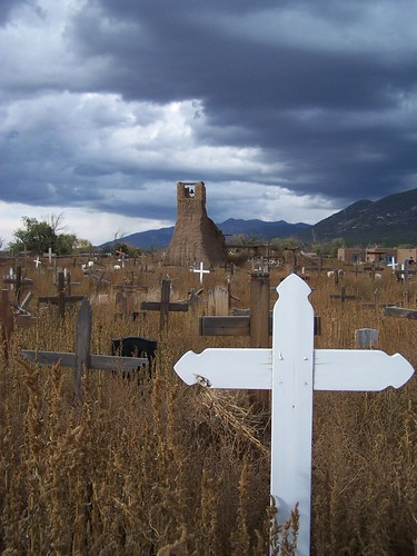 Cemetary at Taos Pueblo