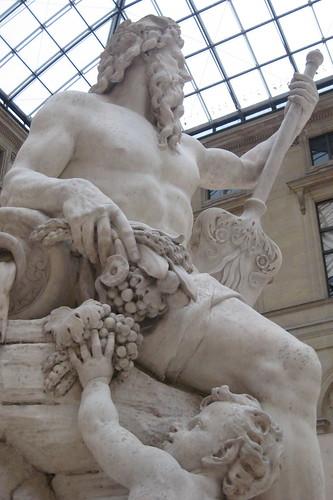 Paris - Musée du Louvre: La Seine