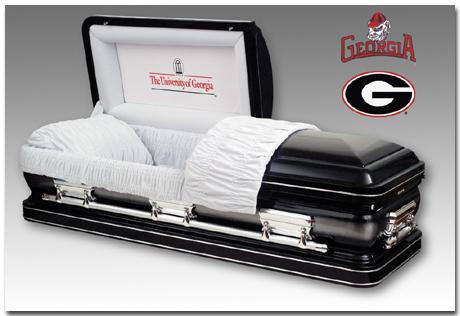 georgia casket
