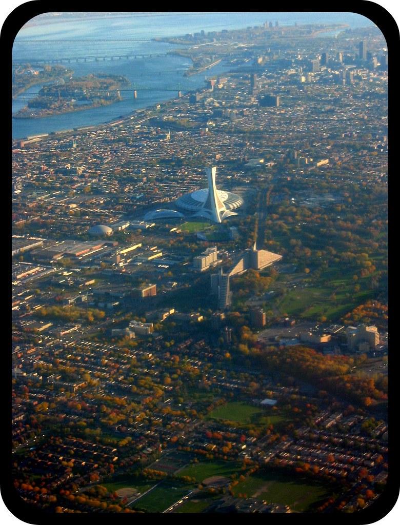 Montréal vue du Ciel