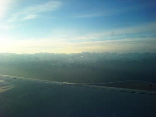 Горы неподалёку от Алматы