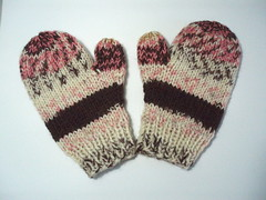 Ice Cream Mittens