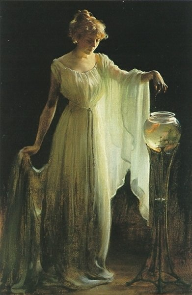 Charles Courtney Curran, The Goldfish