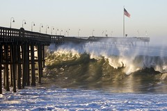 Ventura Pier (Jacob K. Cunningham) Tags: ca people usa news nature weather animals surf waves surfer wave surfers ventura spotnews
