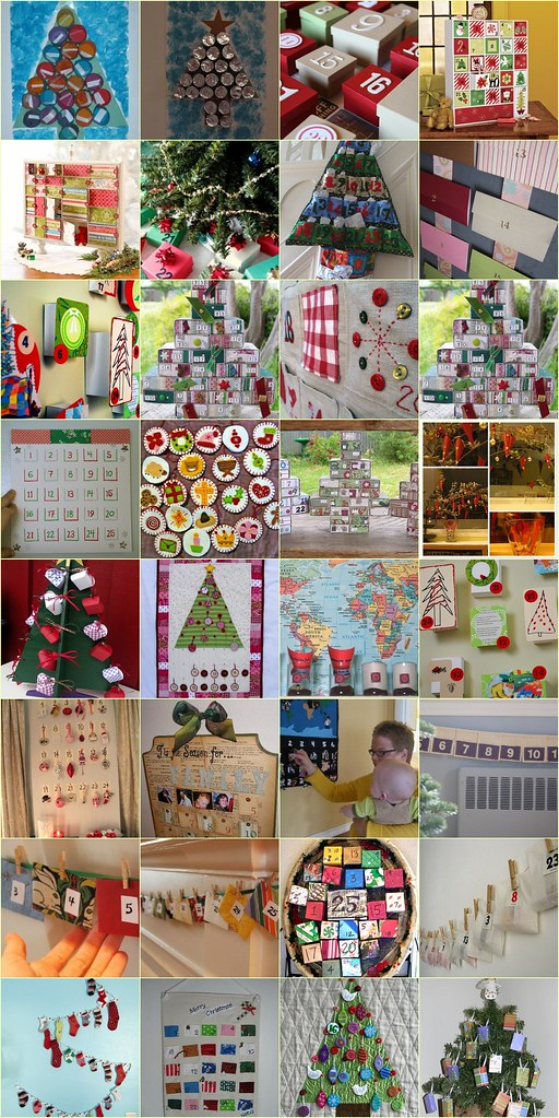 A Collection of Ideas for Making an Advent Calendar