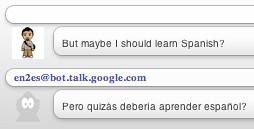 google talk translate