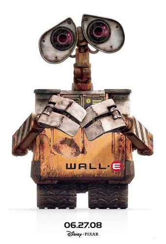 Poster Cartel wall-e Pixar
