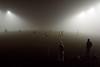 Friday night football in the fog (johanna) Tags: fog football osnossosfutebóis