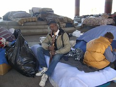 Homeless Camps Claiborne Ave. (1)