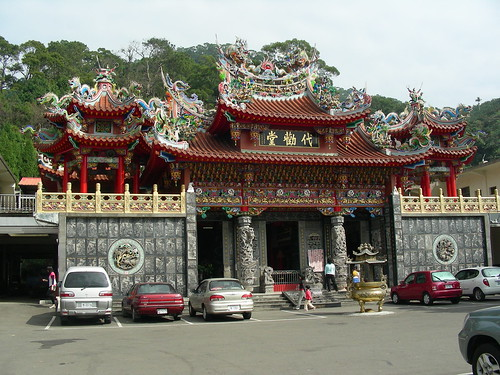 Temple at Fei Feng Mountain Foothills