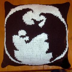 Bat Pillow Complete