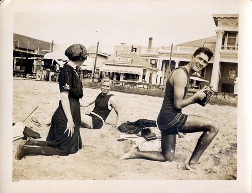 Three at beach