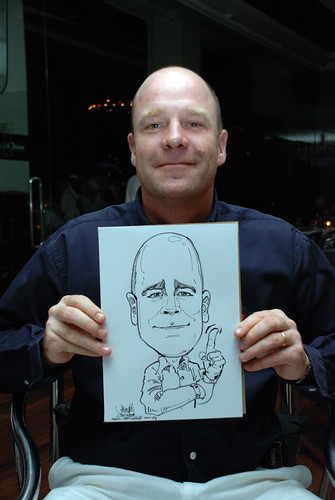 Caricature birthday party 190108 7