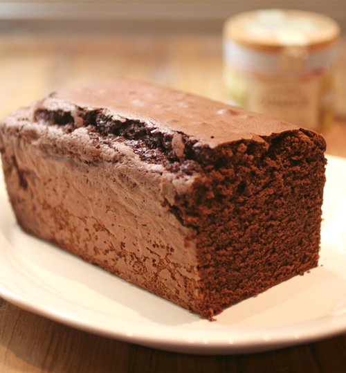 Torta al cioccolato con fleur de sel