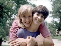 me and dina 1992