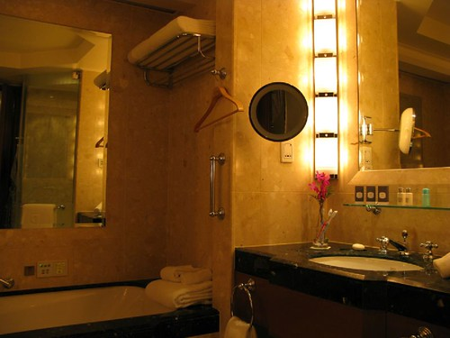 Baño del Hotel Peninsula Bangkok