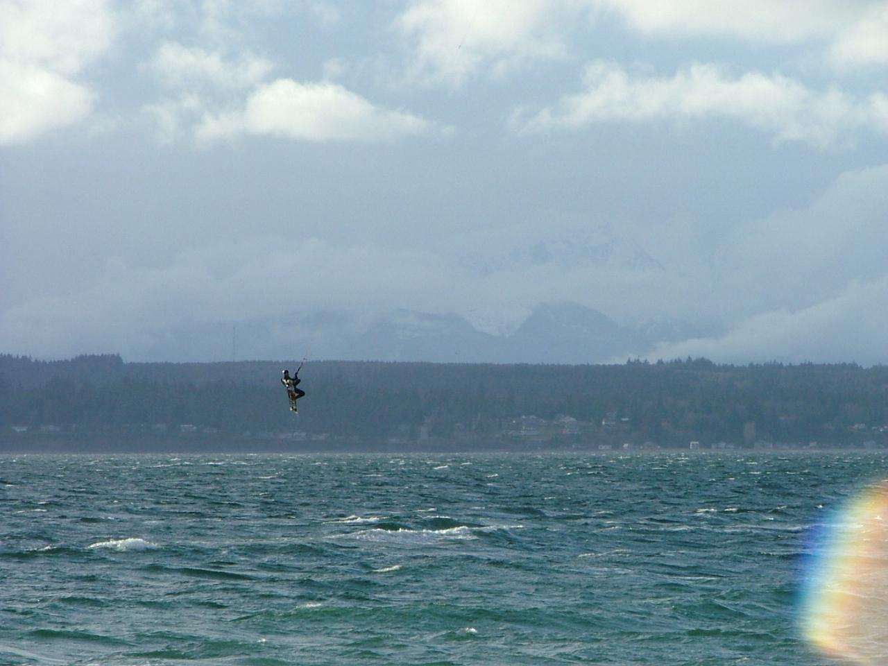 kiteboarding association sticker