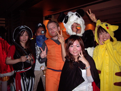 The Halloween mob