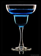 Glass (Squirrel_bark) Tags: blue glass diy nikon sb600 portfolio nikkor d80 105mmvr strobist lightsciencemagic nikkor105mmf28gvrmicro squirrelbark