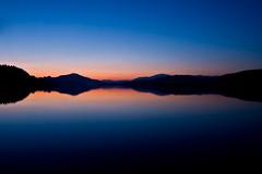 After Sunset (mgratzer) Tags: sunset lake landscape austria krnten carinthia bluehour blauestunde wrthersee lheurebleue lakewrth showonmysite