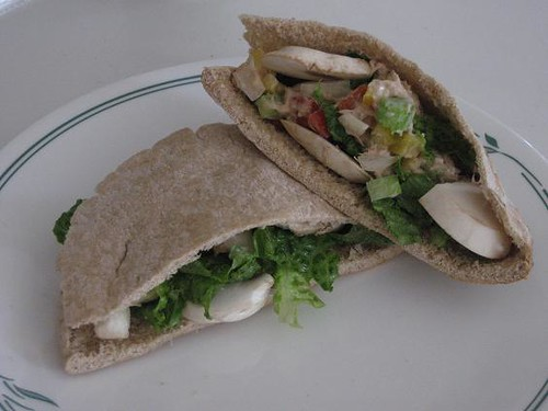 Zesty Tuna Salad Pita