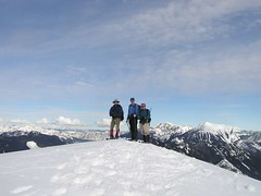 Jack, Jim and Barry on summit