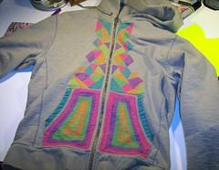 handdrawn hoodie! (Willbryantplz) Tags: diy hoodie sweatshirt merch deejay handdrawn thehoodeddeer willbryantplz