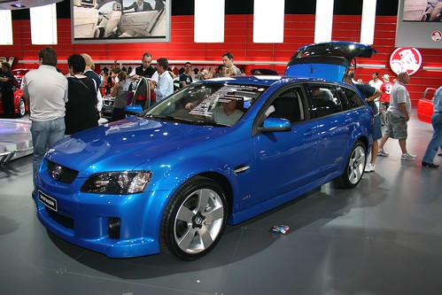 2008 Holden Ve Commodore Sportwagon. Holden VE Commodore SS