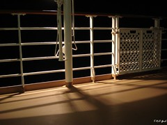 Nippon Maru at night (Shaima82_4) Tags: light shadow japan fence dark ship deck nippon 20 maru swy swy20
