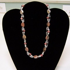 Do the Twist (Nicole G2J) Tags: rhodonite crystalquartz blackobsidian ricepearls leopardjasper