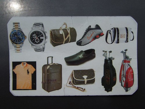 Watches, bags, ...
